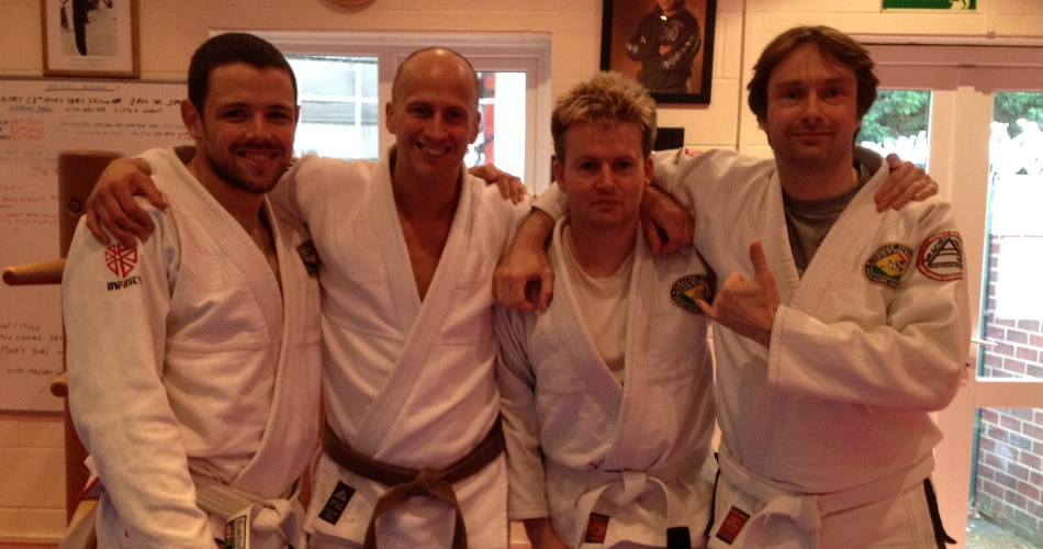 Dave Birkett Teaches Gracie Jiu Jitsu at BJJ Chelmsford | BJJ Chelmsford