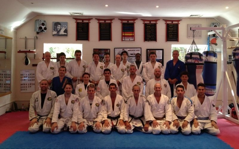 Allan Manganello Seminar at BJJ Chelmsford in August 2012 | BJJ Chelmsford