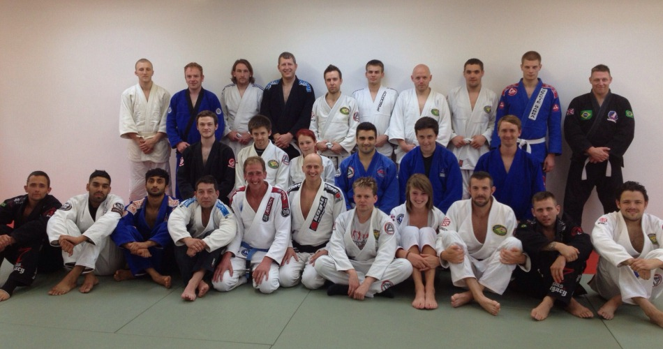 Dave Birkett Teaches Gracie Jiu Jitsu at BJJ Chelmsford in July 2013 | BJJ Chelmsford