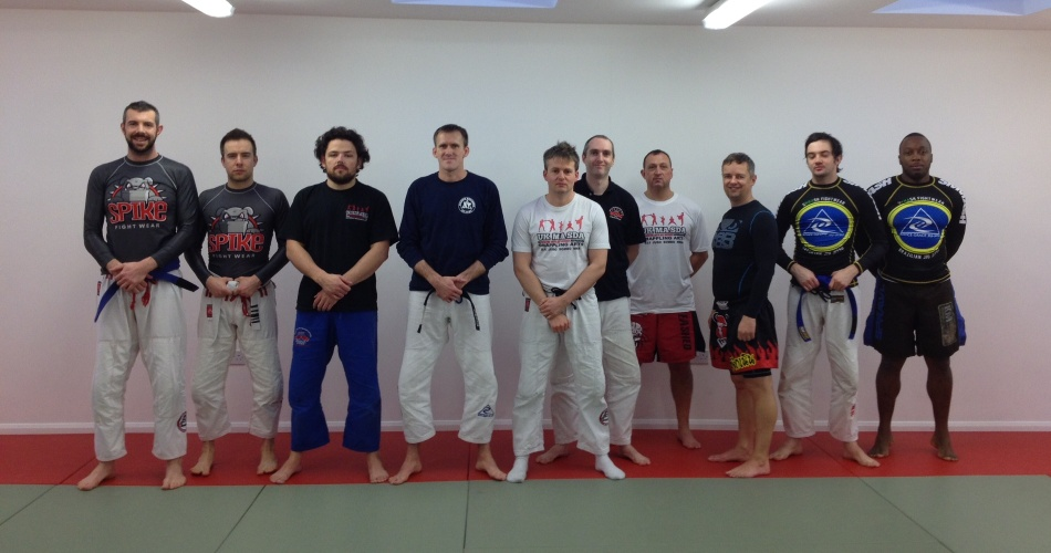 Jon Hegan Seminar at BJJ Chelmsford in January 2014 | BJJ Chelmsford