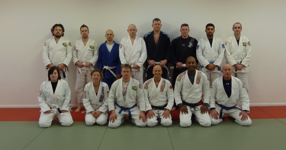 Dave Birkett Armbar Mastery Seminar at BJJ Chelmsford In February 2014
